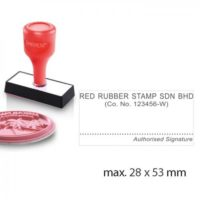 Index Stamp RS2853